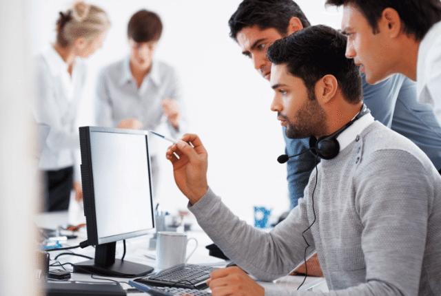 תמיכה טכנית לעסקים, עבודה, מחשוב