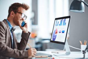 תמיכה לעסקים, טלפון, מחשבים, עבודה