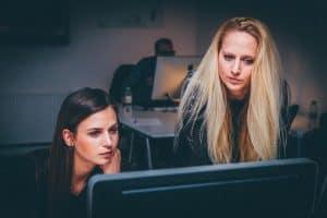 עבודה, מחשבים, נשים, עזרה, תמיכה, ייעוץ